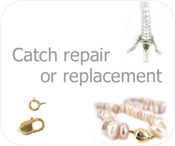 catch repairs replacement button