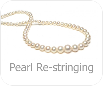 pearl re-stringing button
