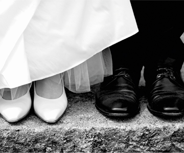 Wedding feet shoes