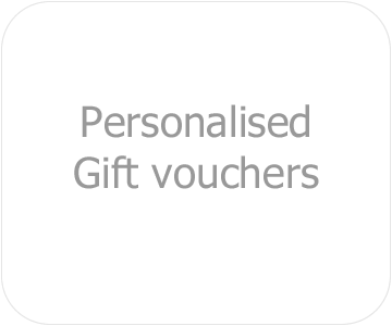 personalised gift vouchers button