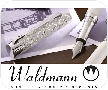 waldmann silver pen button
